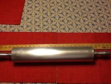 Donut ,Sweet Roll , Danish , Biscuit, Noodle Dough Rolling Pin Aluminum Clean