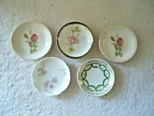 "Vintage Mixed Lot Of 5 Mini Saucers / Plates "" BEAUTIFUL COLLECTIBLE SET """