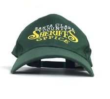 Vtg Santa Clara County Sheriff Office (California) Baseball Cap Hat SnapBack