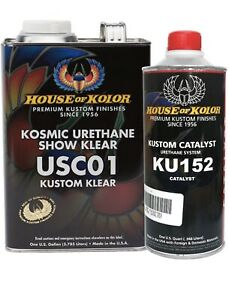 HOUSE OF KOLOR USC01 KOSMIC URETHANE SHOW KLEAR (GALLON W KATALYST)(HOK-USC01G)