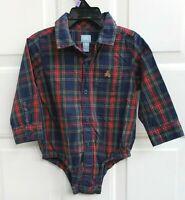 NWT Baby Gap boy SPRING EASTER Plaid bodysuit hat 3-piece SET 3 6 12 18 TWINS