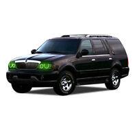 for Lincoln Navigator 98-02 Green LED Halo kit for Headlights