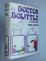 HUGH LOFTING.DOCTOR DOOLITTLE A TREASURY.1ST/12 H/B D/J 1968,B/W ILLS.O FRICKER