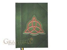 Book of Shadows Charmed inspired personalized hardcover notebook