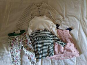 Girls Kids Baby Clothes Bundle 6-9months 12-18months Zara