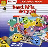 READ, WRITE & TYPE 1995 PC GAME TLC +1Clk Windows 10 8 7 Vista XP Install