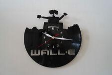 Wall-E Design Vinile Record Orologio da Parete, Nero Lucido Adesivo arte casa ufficio negozio