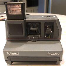 Polaroid Impulse 600 Instant Film Camera Built-In Flash  & Tested!