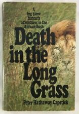 PETER CAPSTICK AFRICA Death in Long Grass African Big Game Hunting Elephant Lion