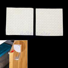 200Pcs Self-Adhesive Rubber Feet Semicircle Bumpers Door Buffer Furniture Pad DH