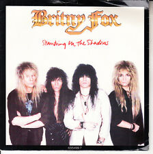 BRITNY FOX  Standing In The Shadows PICTURE SLEEVE 45 record NEW + jukebox strip