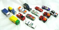 Lot of 14 Vintage 1970's 1980's Matchbox Superfast Lesney Cars Trucks Vehicles