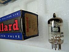 EF95 Mullard Mitchum 6AK5 Black Plate New Old Stock Electronic Valve 1PC A17B