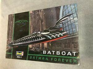 BATMAN FOREVER BATBOAT Model Kit 1995 Revell Monogram 1:25 Scale NEW 6722 SEALED