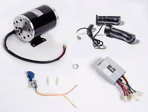 1000 W 48V electric scooter motor kit w BASE+control box key lock & Throttle