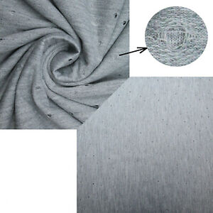 """Soft Woven Feel Circles Polyester Fabric 3 Metre Length 4-Way Stretch 55"""" Wide"""