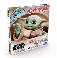 Star Wars Operation Board Game Mandalorian The Child Baby Yoda Disney Hasbro New