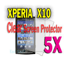 5X Clear Screen Protector Sony Ericsson Xperia X10