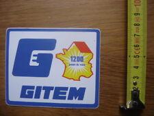 Autocollant Sticker GITEM 1200 points de vente ELECTRICITE