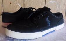 Polo Ralph Lauren Faxon Low Men's Reflective Mesh Upper, Sneakers, Black 11.5, D