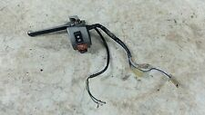 84 Honda NH80 NH 80 Aero Scooter left hand control switch turn signal