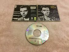 Peter Gabriel 3 1980 MELT EARLY USA DADC CD GENESIS BIKO GAMES WITHOUT FRONTIERS