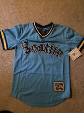 Seattle Mariners Ken Griffey Jr. Baseball jersey YOUTH Medium M throwback NEW