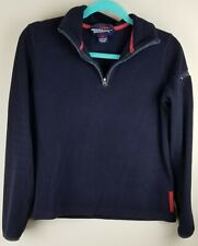 Abercrombie Fitch Boys Youth Jacket Size Medium Blue Pull Over Fleece Sweater