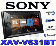 Sony Double Din Car Audio Media Receiver Bluetooth USB XAV-V631BT (NO CD/DVD)