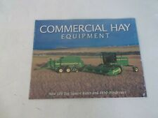 John Deere Commercial Hay Equipment 100 Square Baler and 4890 Windrower Brochure