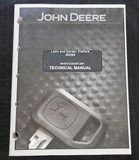 Originale John Deere GX355 Prato & Giardino Trattore Technica Manuale