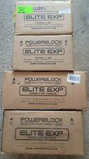 POWERBLOCK ELITE EXP 5-90LB Series Adjustable Dumbbells PAIR BRAND NEW IN HAND