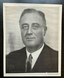 FDR PHOTOGRAPH ORIGINAL VINTAGE  by JACK CLIFFORD 1933 -  RARE & 1 OF A KIND!