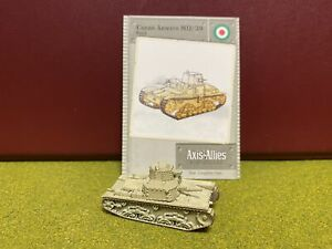 Axis & Allies Miniatures, World War II, Italy, Carro Armato M11/39 Tank
