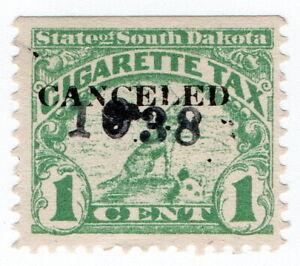 (I.B) US Revenue : Cigarette Tax 1c (South Dakota)