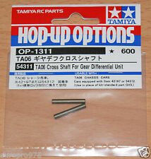 Tamiya 54311 TA06 Cross Shaft For Gear Differenatial Unit, TRF417/TRF418/M07/M08