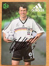 Lothar Matthäus AK DFB 1998 Autogrammkarte original signiert
