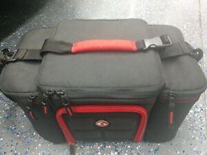 6 Six Pack Fitness Bag Innovator 300/500 Meal Prep Storage Gym Exercise, Black