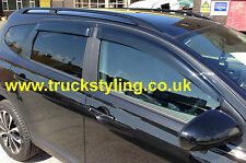 Nissan Qashqai 4+2 Model Wind Deflectors Set of 4 (2009-2013 models)