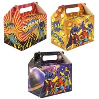 Super Hero Party Food Lunch Boxes - Perfect For Party Favours and Party Bags