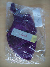 Bra Ladies Triumph Beauty-Full Basics WHP Bra Intensive Violet 34 D  New Sealed