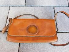 vintage SAC A MAIN pierre AGATE sacoche en CUIR LEATHER BAG Ledertasche handbag