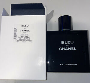 (Tester Bottle)New! Bleu De Chanel Eau De Parfum 5oz