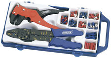 Original Draper 6 Weg Crimpwerkzeug und Draht Streifen Set 33079