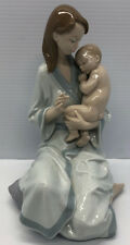 "Lladro #8030 ""Sleep my love"" Mother and Child Figurine Mint 2003"