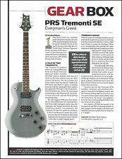 PRS Mark Tremonti SE signature + Guild D40 acoustic guitar review article