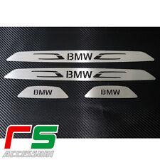 soglia porta battitacco sottoporta bmw serie 3 F30 F31 acciaio inox tuning