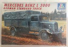 ITALERI WW II Model Mercedes Benz L 3000 German Standard Truck No 287 1:35 1995