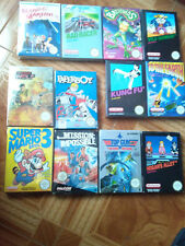 Lote 12 juegos Nintendo Nes Pal Esp Muchos Nuevos