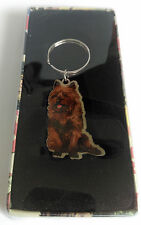 Wizard of Oz Toto Metal Key Ring - retired rare
